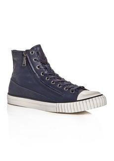 John Varvatos Bootleg Men's Vulcanized Coated High-Top Sneakers
