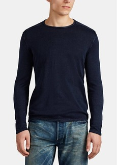 John Varvatos Star U.S.A. Men's Washed Cotton Sweater