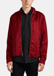 John Varvatos Star U.S.A. Men's Washed Linen-Blend Jacket