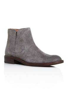 John Varvatos Star USA Men's Waverly Suede Chelsea Boots