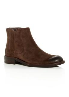 John Varvatos Star USA Men's Waverly Suede Chelsea Boots