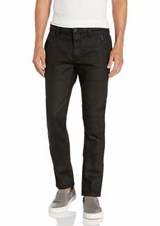 John Varvatos Star USA Men's Wight Moto Skinny FIT Straight Leg Jean