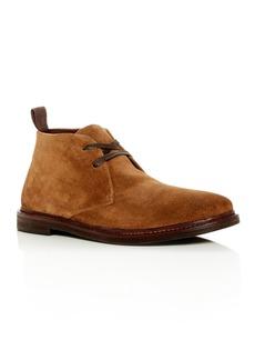 John Varvatos Star USA Men's Zander Suede Chukka Boots