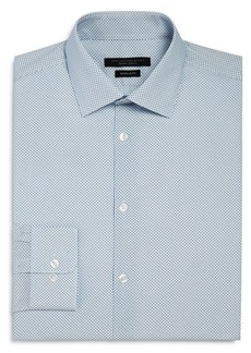 John Varvatos Star USA Micro Arrow Print Regular Fit Dress Shirt