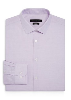 John Varvatos Star USA Micro-Checked Slim Fit Dress Shirt