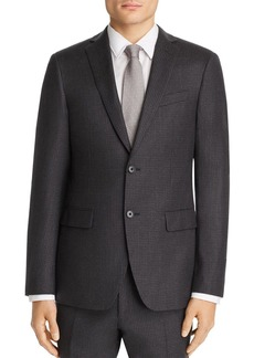 John Varvatos Star USA Micro-Checked Wool Flannel Slim Fit Suit Jacket