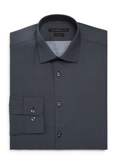 John Varvatos Star USA Micro-Diamond Slim Fit Dress Shirt