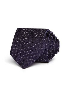 John Varvatos Star USA Micro Dot Dash Classic Tie