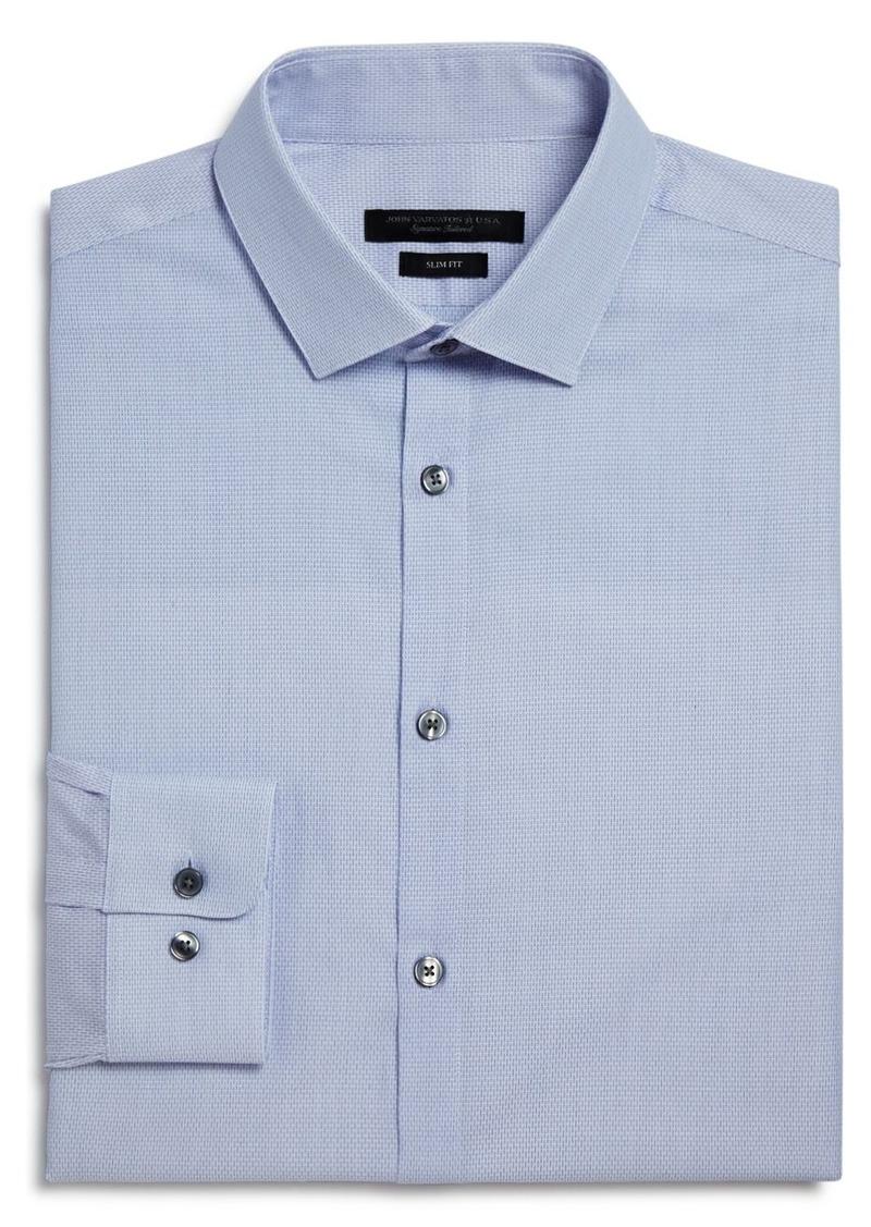 John Varvatos Star USA Micro Solid Slim Fit Dress Shirt