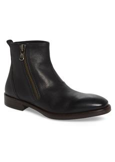 John Varvatos Star USA Mid Angled Zip Boot (Men)
