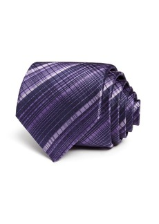 John Varvatos Star USA Mini Tonal-Checked Silk Classic Tie
