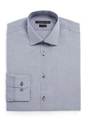 John Varvatos Star USA Mini Window Check Slim Fit Dress Shirt