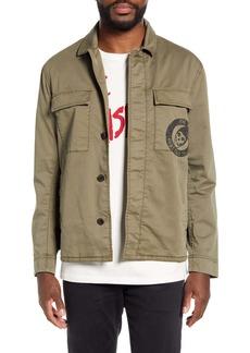 John Varvatos Star USA Misfits Graphic Sateen Jacket