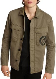 John Varvatos Star USA Misfits Slim Fit Patch Jacket