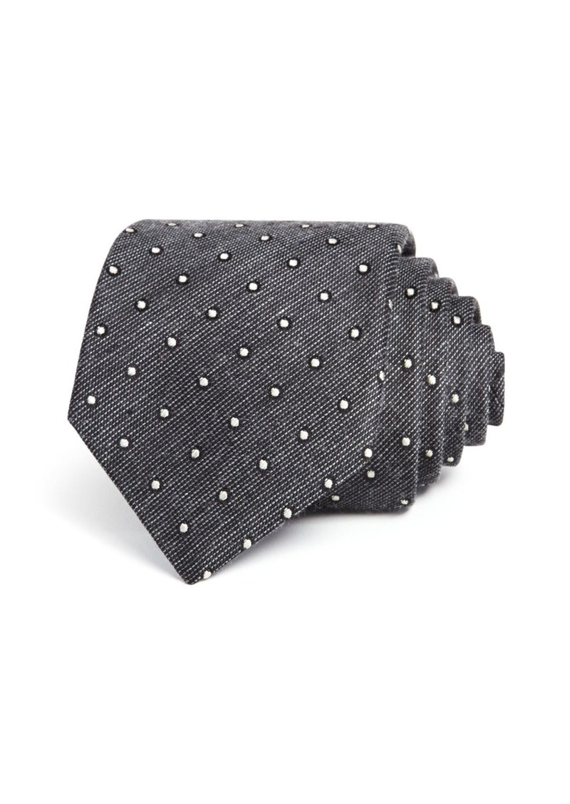John Varvatos Star USA M�lange Dot Classic Tie