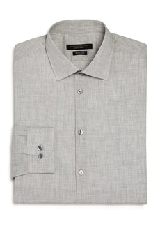 John Varvatos Star USA M�lange Regular Fit Dress Shirt