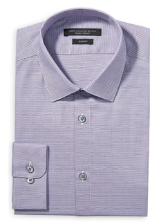 John Varvatos Star USA Modern Gingham Slim Fit Dress Shirt