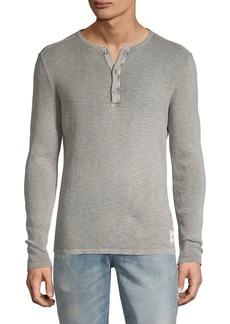John Varvatos Star U.S.A. Nashville Waffle Long Sleeve Shirt