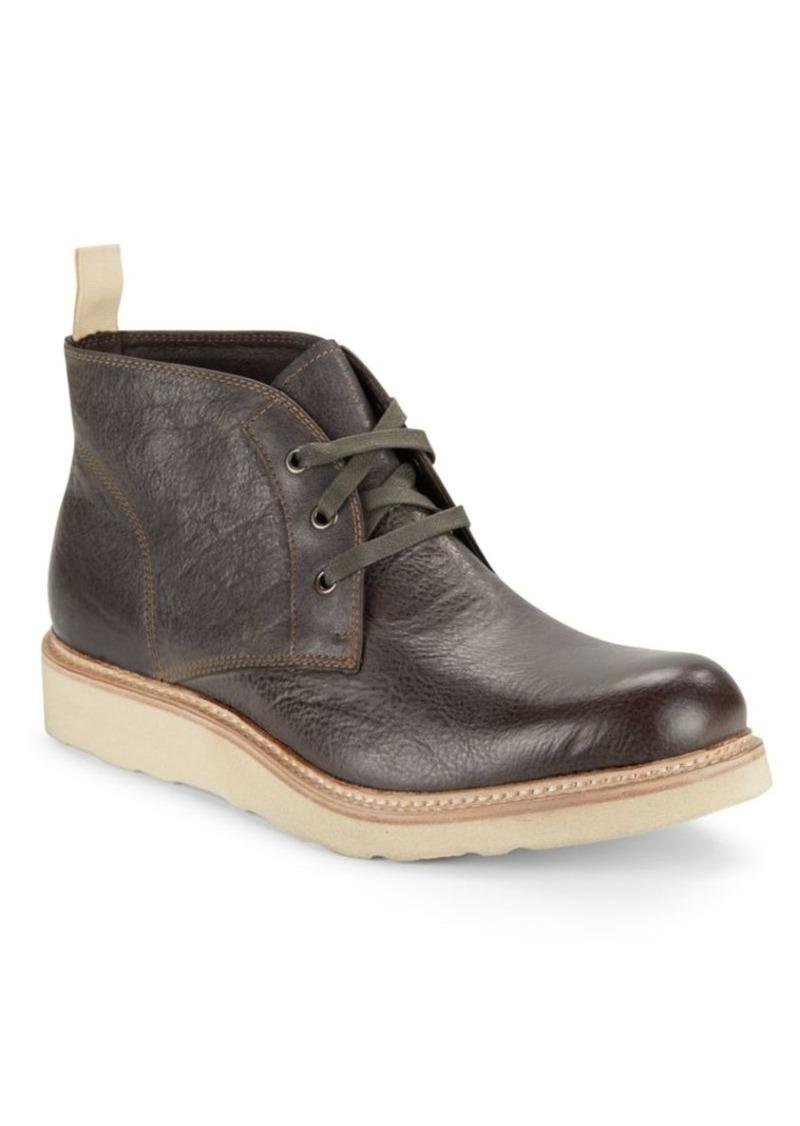 John Varvatos Star U.S.A. Nelson Leather Chukka Boots