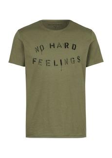 John Varvatos Star USA NO HARD FEELINGS Graphic Tee