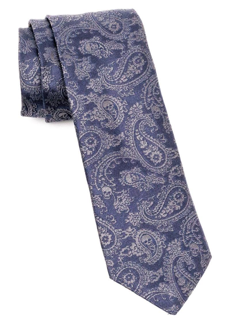 John Varvatos Star USA Paisley Silk Tie