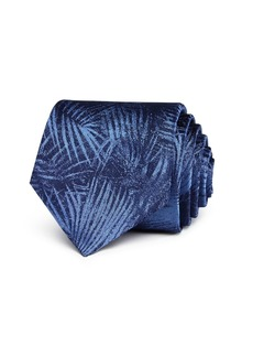 John Varvatos Star USA Palm-Leaf Classic Silk Tie