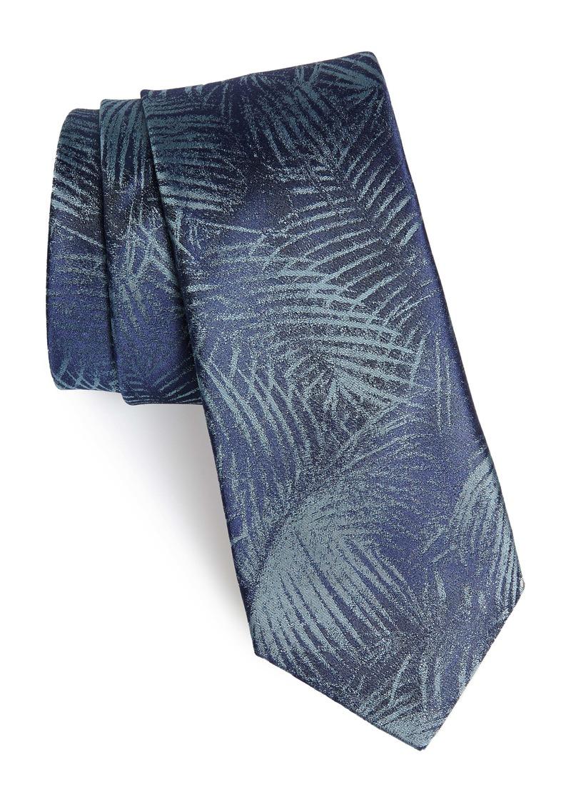 John Varvatos Star USA Palm Silk Tie