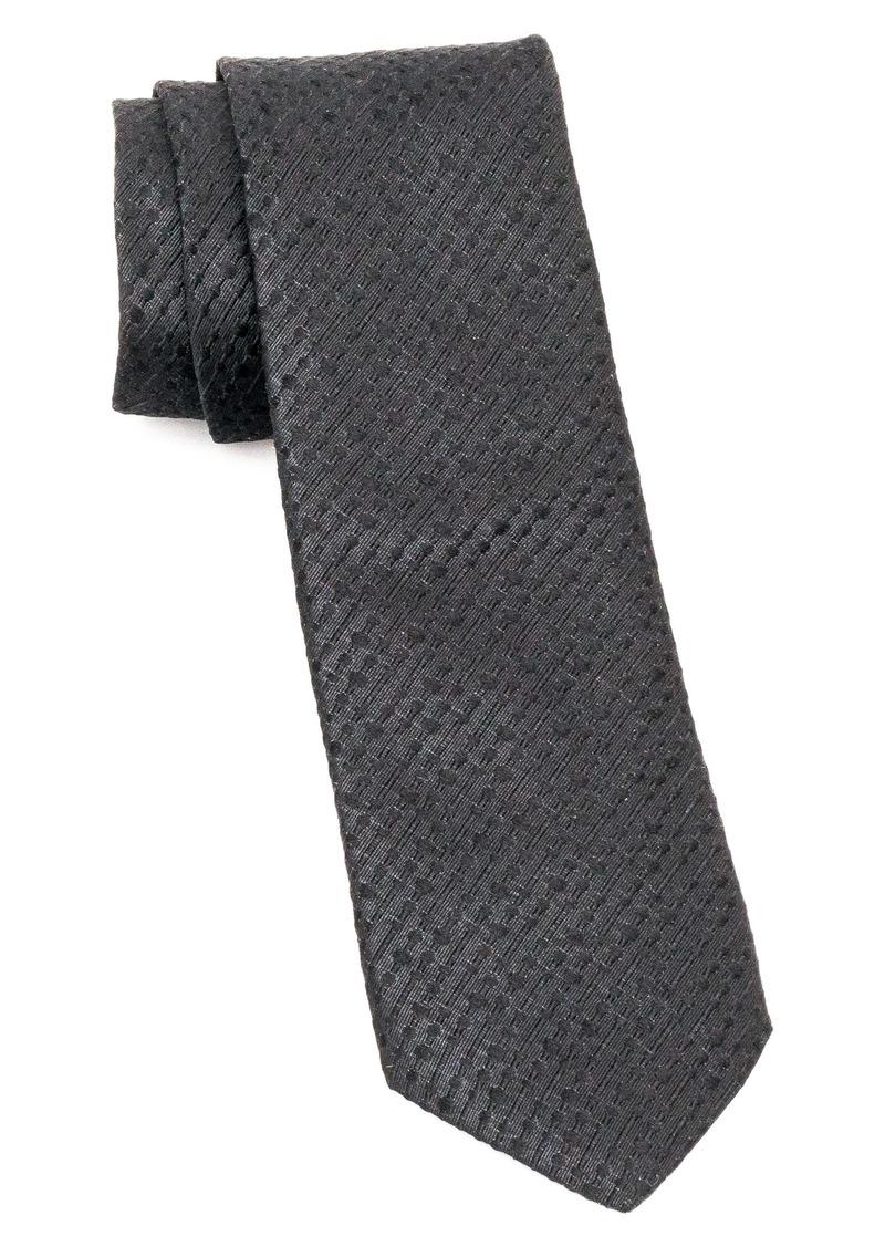 John Varvatos Star USA Pattern Silk Blend Tie