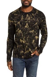 John Varvatos Star USA Phoenix Mercerized Cotton Sweater