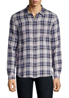 John Varvatos Star U.S.A. Check Plaid Button-Down Shirt