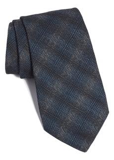 John Varvatos Star USA Plaid Cotton Blend Tie