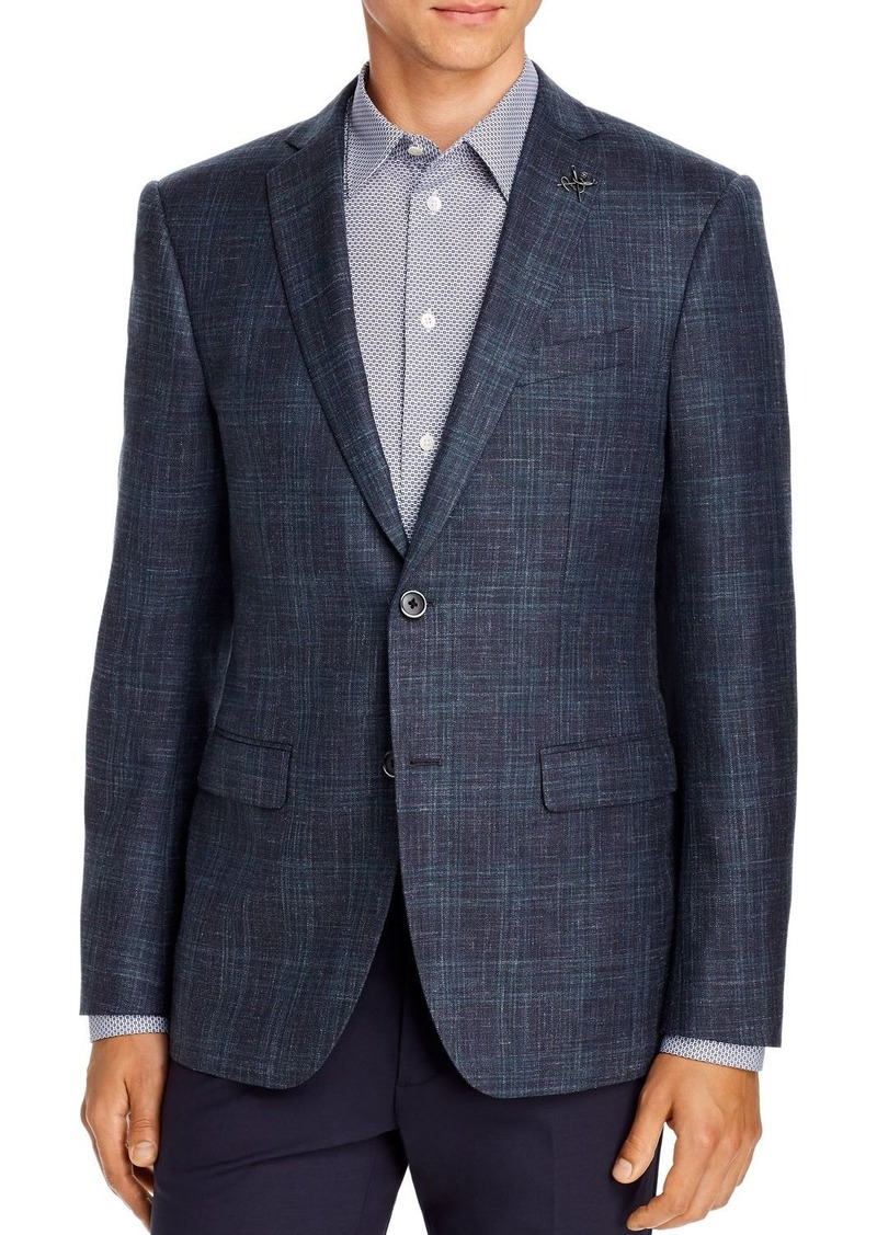 John Varvatos Star USA Plaid Slim Fit Sport Coat