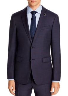 John Varvatos Star USA Plaid Slim Fit Suit Jacket
