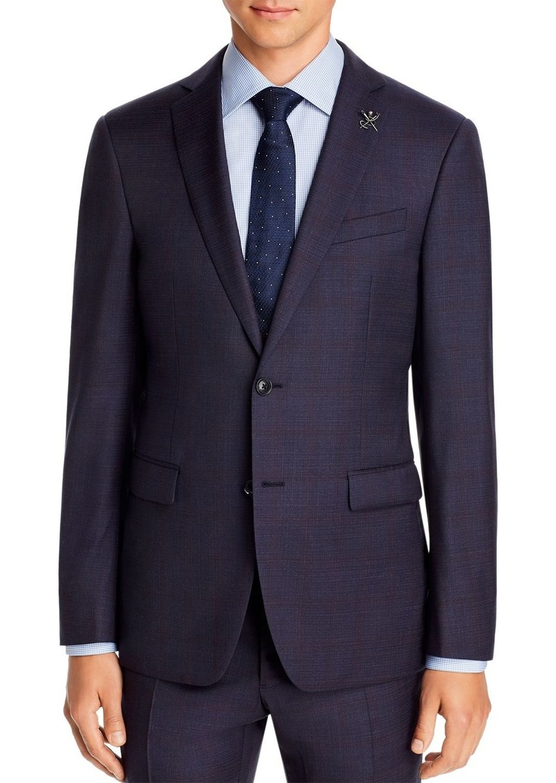 John Varvatos Star USA Plaid Slim Fit Suit Jacket