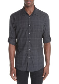 John Varvatos Collection Plaid Sport Shirt
