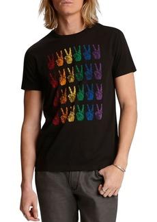 John Varvatos Star USA Pride Cotton Graphic Tee