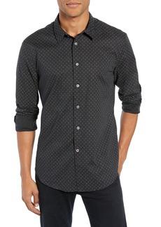 John Varvatos Star USA Print Regular Fit Sport Shirt
