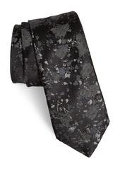 John Varvatos Star USA Print Silk Blend Tie