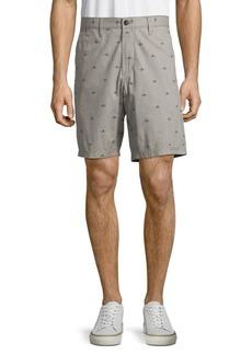 John Varvatos Star U.S.A. Printed Cotton Shorts
