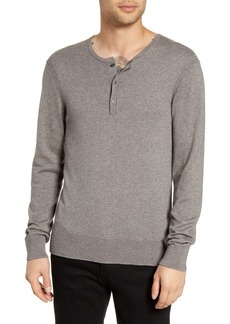 John Varvatos Star USA Provo Henley Sweater