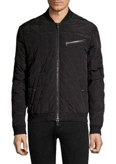 John Varvatos Star U.S.A. Quilted Down Bomber Jacket