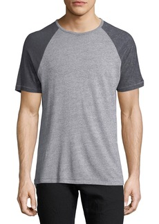 John Varvatos Raglan Short-Sleeve T-Shirt