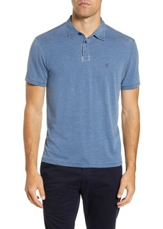 John Varvatos Star USA Slim Fit Burnout Polo