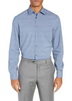 John Varvatos Star USA Regular Fit Check Dress Shirt