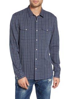 John Varvatos Star USA Regular Fit Double Pocket Sport Shirt