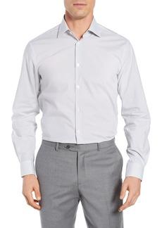 John Varvatos Star USA Regular Fit Geometric Dress Shirt