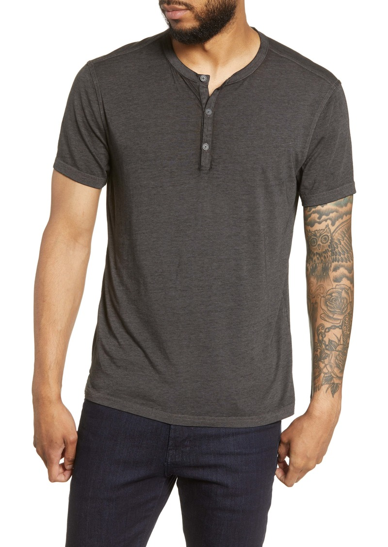 John Varvatos Star USA Regular Fit Henley T-Shirt