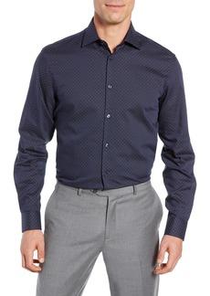 John Varvatos Star USA Regular Fit Print Sport Shirt