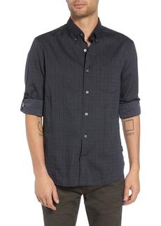 John Varvatos Star USA Regular Fit Roll Sleeve Sport Shirt