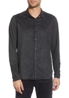 John Varvatos Star USA Slim Fit Snap-Front Shirt